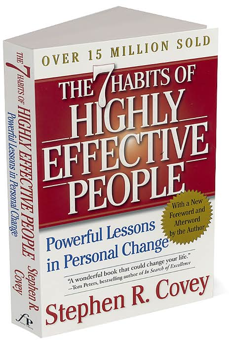 stephen coveys book the 7 habits Based on the proven principles found in dr stephen r covey's best-selling business book, the 7 habits of highly effective people: signature edition 40 is training that helps your organization achieve sustained superior results by focusing on making individuals and leaders more effective.