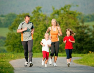 family jogging 300x234 Obesity is a Global Pandemic: Is This Your Fault?